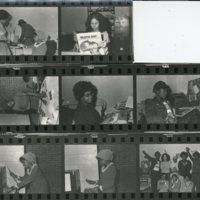 Black Rap Staff Photo Strip