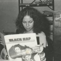 Black Rap Staff- Reading